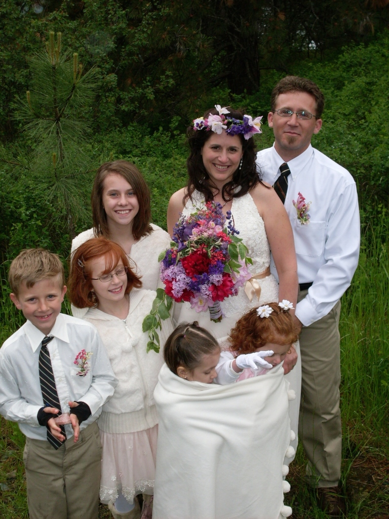Reference photo for wedding portrait